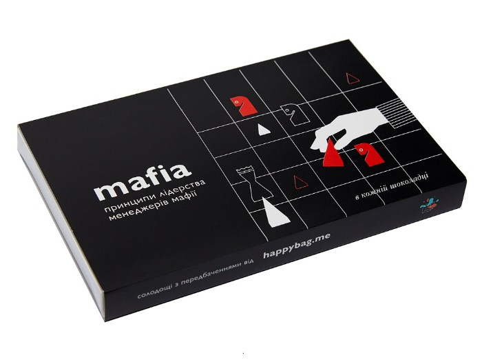 "Set of chocolates ""Mafia"""